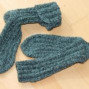 Dicke Lammwoll-Socken
