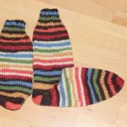 Flotte Socke Ringel - 6fach